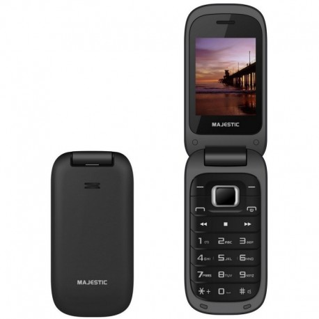 Majestic tlf lucky 60 flip. telefono gsm con display 2.4' lcd a colori