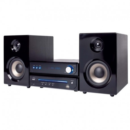 Majestic ah-2348 hp bt usb micro sistema hi-fi con lettore cd-mp3 e bluetooth