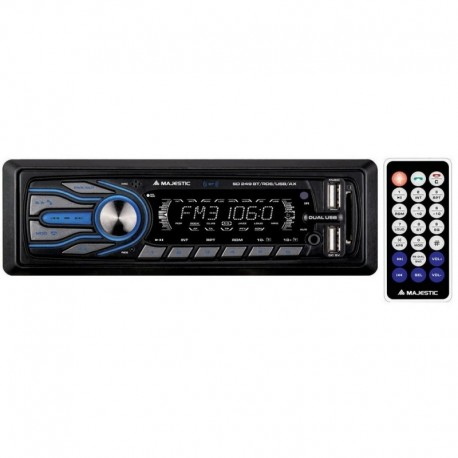 Majestic sd249 bt autoradio bluetooth integrato ingresso sd e telecomando