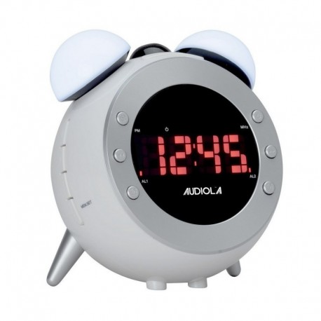 Audiola rsb0705 radio sveglia digitale stile retro display led proiezione ora