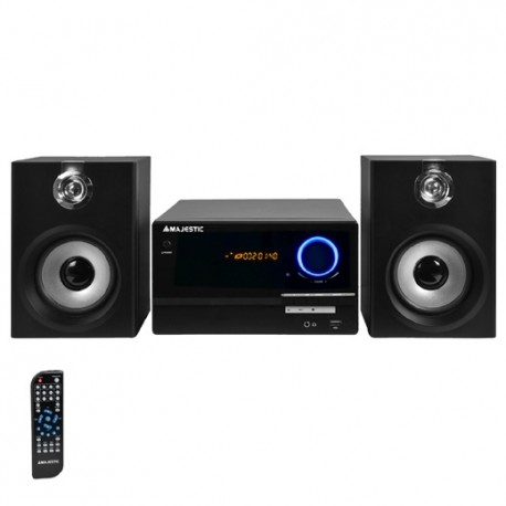 Majestic ah2347 bt stereo lettore cd mp3 con bluetooth radio fm ingresso usb aux