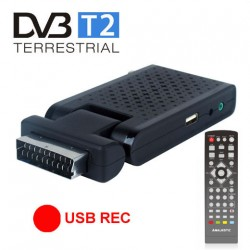 Majestic dec 663 mini decoder scart-hdmi dvbt-t2 usb 2.0